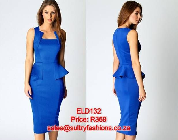 ELD132 - PRICE: R369  AVAILABLE SIZES: S/M (Size 8-10 / 32-34) M/L (Size 10-12/34 -36) To order, email: sales@sultryfashions.co.za