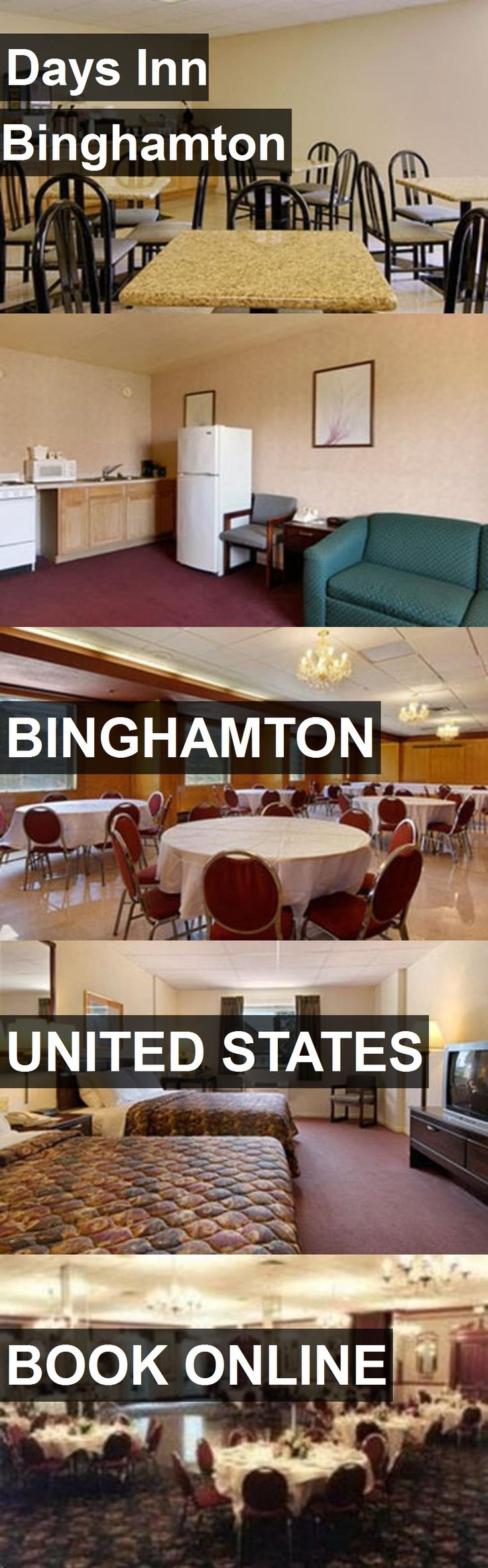 Hotel Days Inn Binghamton in Binghamton, United States. For more information, photos, reviews and best prices please follow the link. #UnitedStates #Binghamton #travel #vacation #hotel