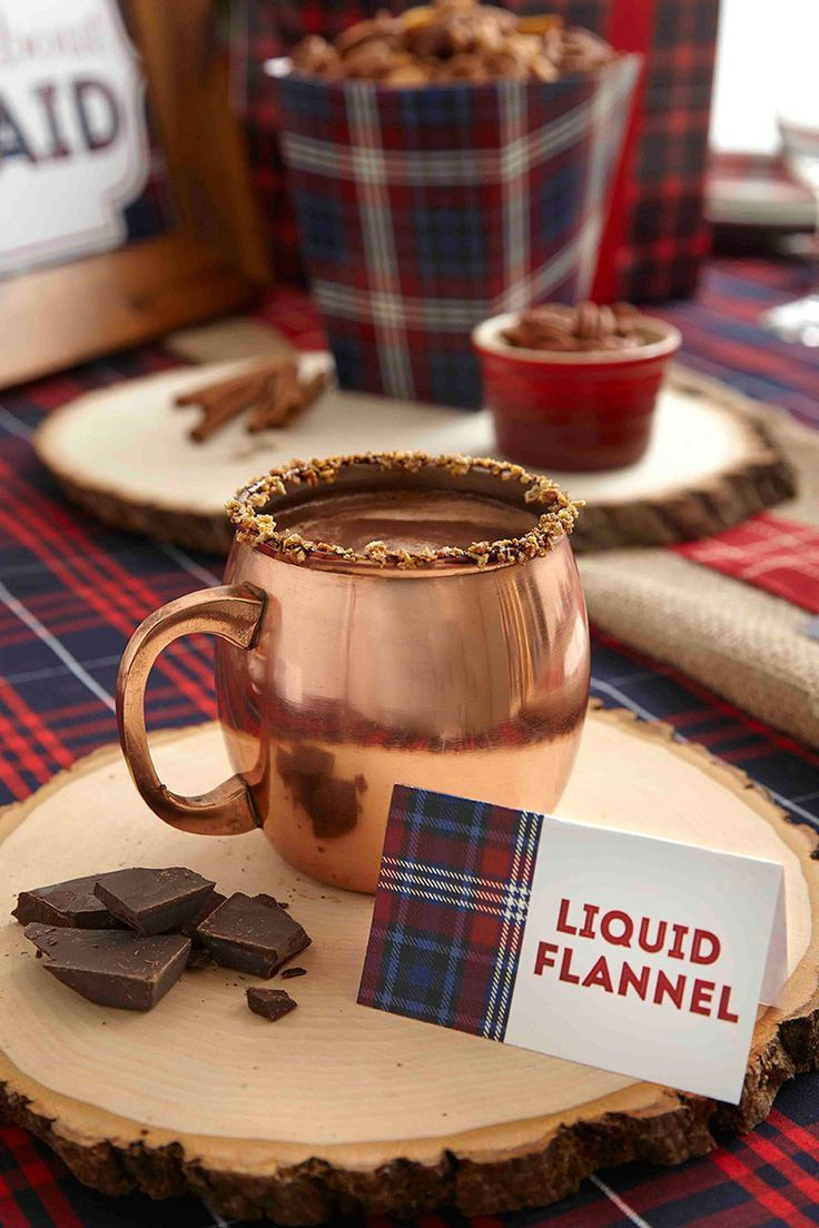 Mad for Plaid. #drinks #cocktail #recipe #winter #moscowmule