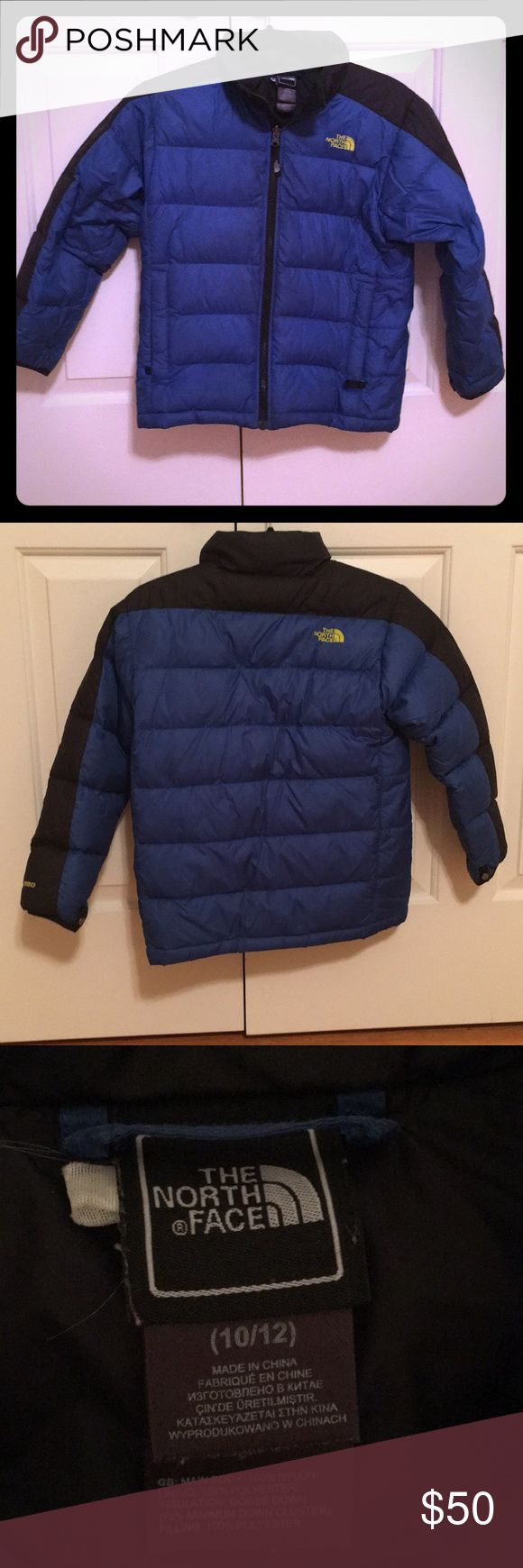Boys north face winter coat ☃️ Excellent condition boys size 10-12 north face winter coat 😀 North Face Jackets & Coats Puffers