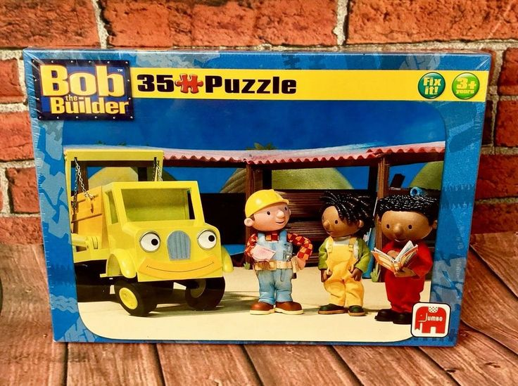 Bob The Builder Jigsaw Puzzle 35 Jumbo Pieces fix it 3+ Kids Toys Present toy