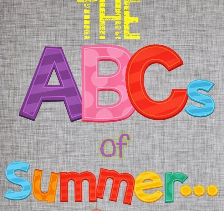 The ABC's of Summer Part 2! Posted by Jackie Greenwood Fitness- No Limits Fitness on Saturday, May 20, 2017  Just the mere thought of summer brings so many...