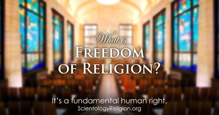Freedom of Religion: A Fundamental Human Right - Read The Booklet    From its beginnings the Church of Scientology has recognized that freedom of religion is a fundamental human right. In a world where conflicts are often traceable to intolerance of others' religious beliefs and practices, the Church has, for more than fifty years, made the preservation of religious liberty an overriding concern.    A vital component to preserving this fundamental human right is an understanding of the right…