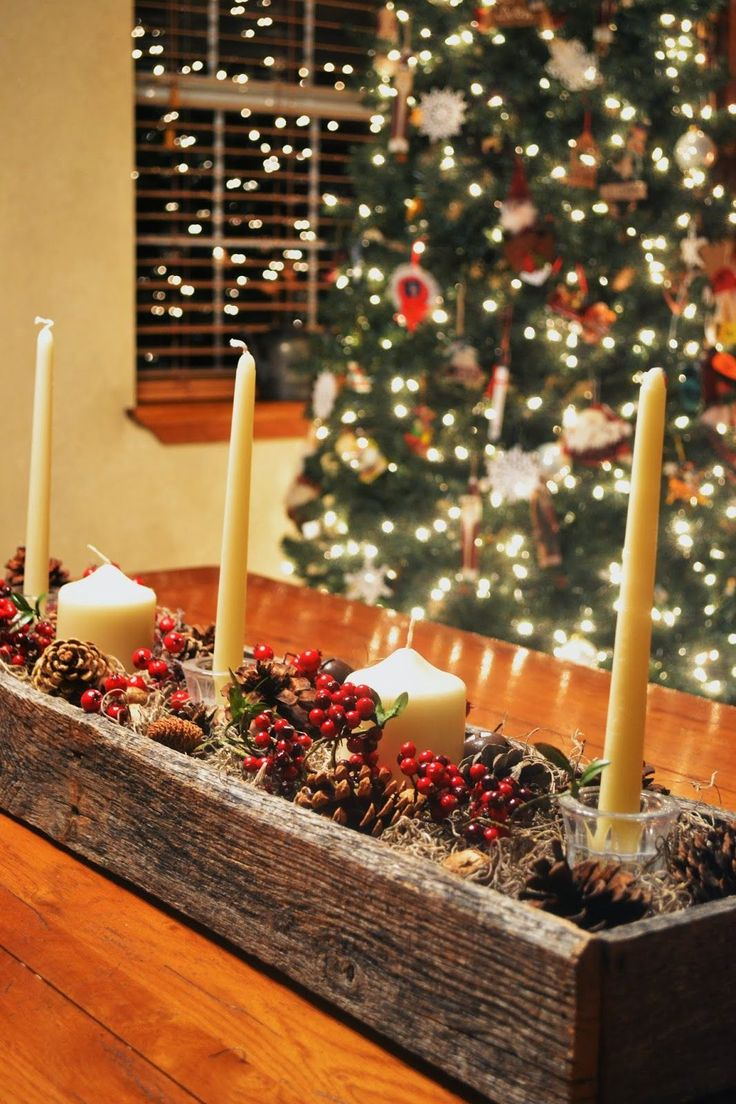 16 Easy Christmas Centerpieces That Bring All