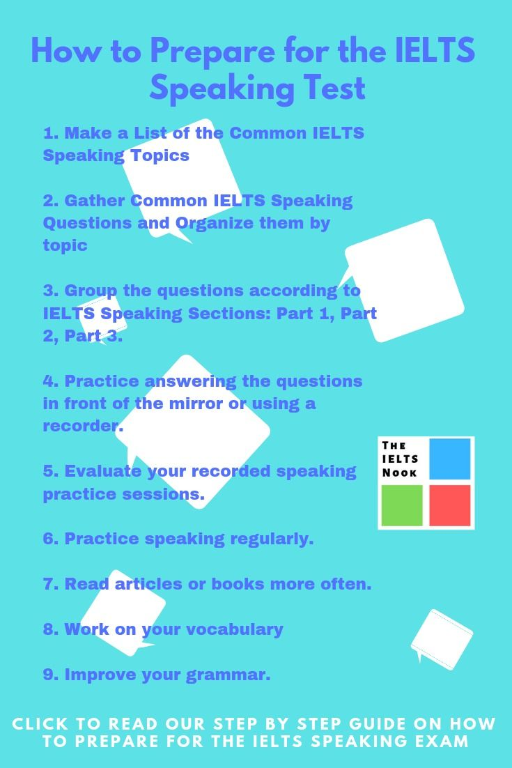 HOW I PREPARED FOR THE IELTS SPEAKING EXAM | IELTS