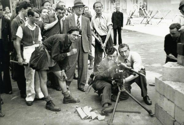 Rue Saint-Honoré, Paris, 1944.