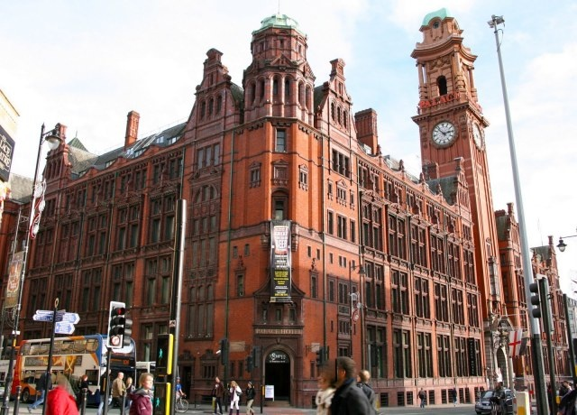 The Palace Hotel, Manchester. Perfect for conferences and team building events in Manchester - lots of history and plenty of space!
