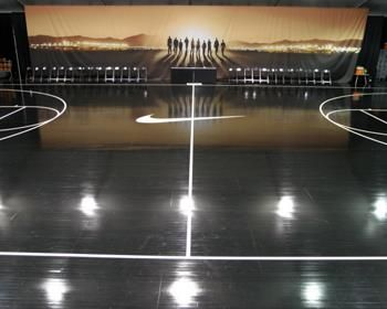 Hardwood Courts, Gymnasium Floors And Running Tracks By Connor Sports.  Photos Include NBA Basketball Courts, NCAA Basketball Courts, And High  School Gyms.