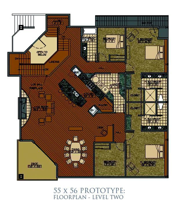 Hangar Size 55 X 56 Home Plans Pinterest