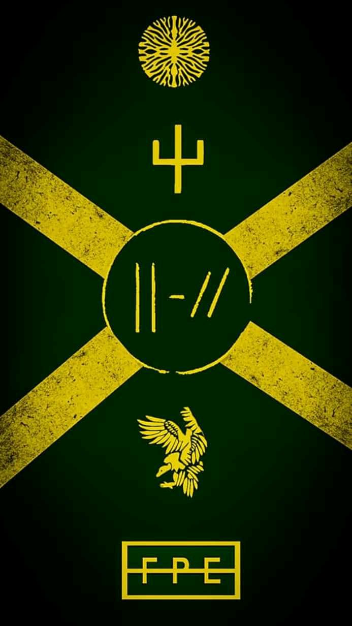 Trench Symbols This Was Under Emo Bands And I M Not Sure What To Think About T Twenty One Pilots Wallpaper Twenty One Pilots Art Twenty One Pilots Tattoo