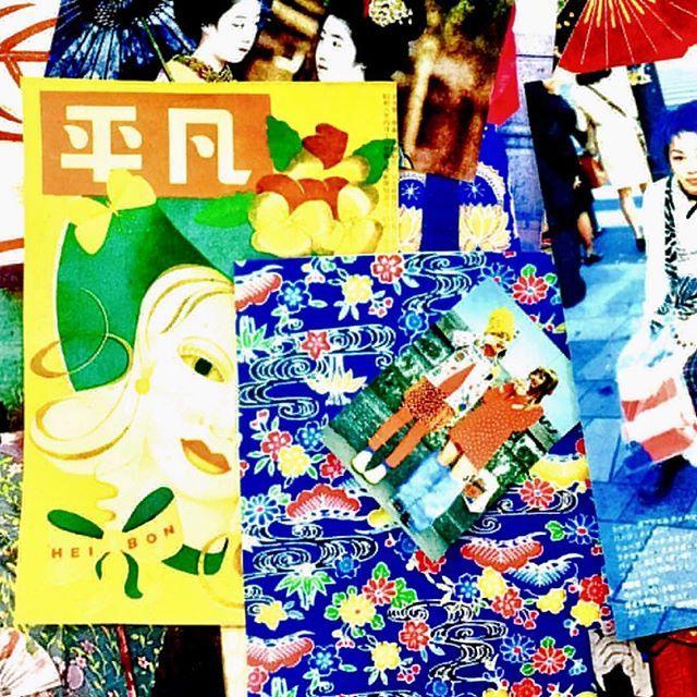 Spring Summer 2018 inspiration ...#comingsoon #ss18 #andrewgn #moodboard #runway #palaisdetokyo #moretocome #tokyoto