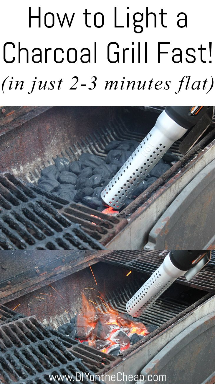How to light a charcoal grill fast lighter charcoal and