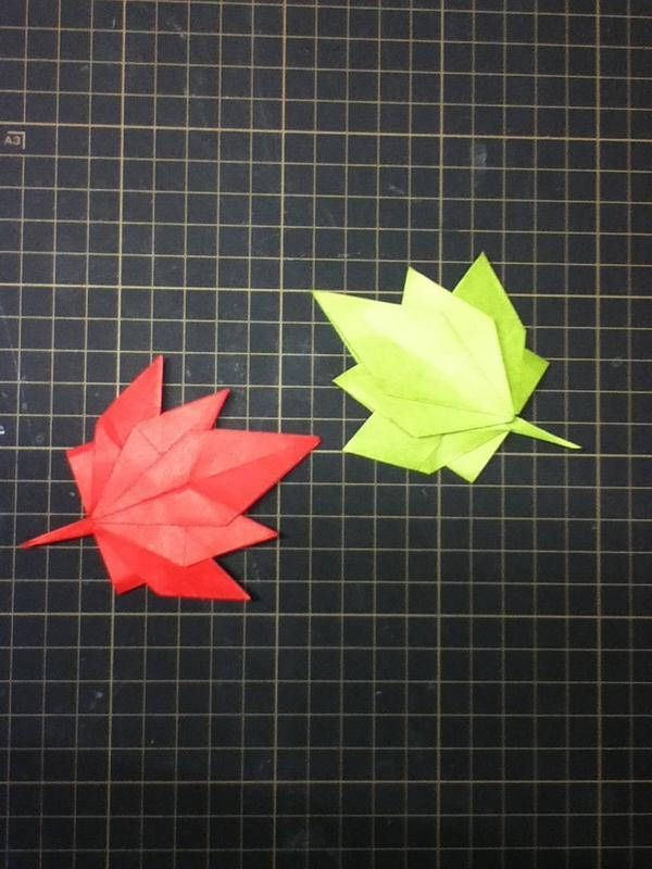 1000+ images about origami leaves on Pinterest | Dollar bills ...