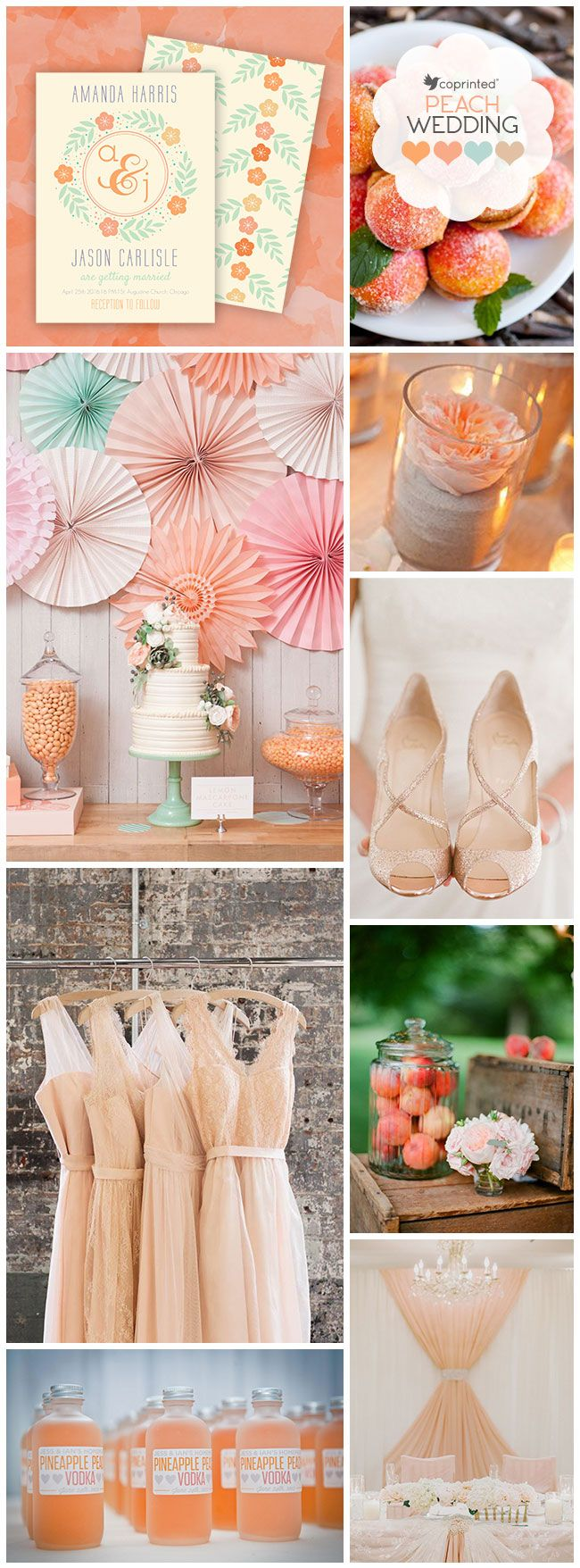 Peach-Affordable-Wedding-Invitations