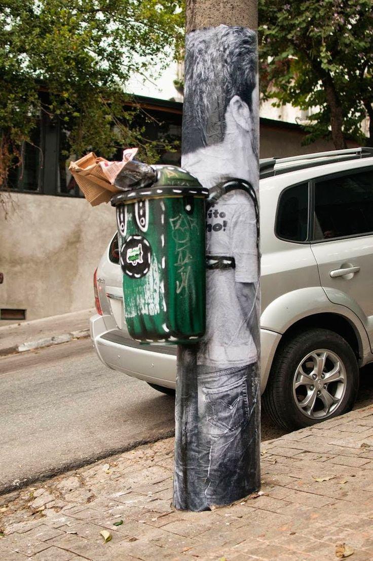 #streetart #straßenkunst #rucksack