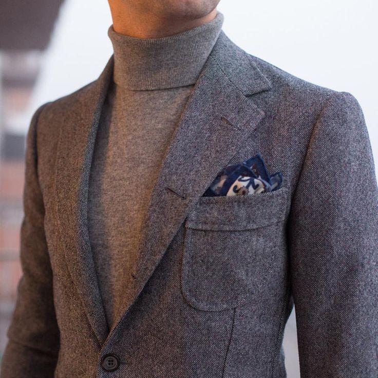 Travel jacket and Charvet rollneck #bespoke #lookbook #apparel #mnswr #menswear #igfashion #guyswithstyle #mensfashionpost #fashion #mensfashion