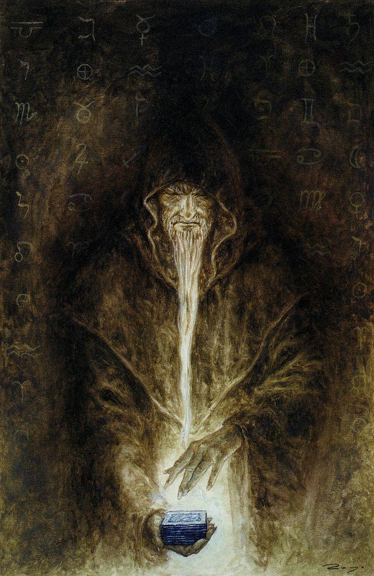 meanwhilebackinthedungeon:— Luis RoyoThe Labyrinth Tarot