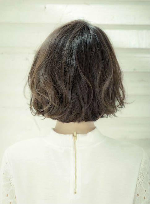 【ボブ】大人かわいい ナチュラルボブ☆/drive for gardenの髪型・ヘアスタイル・ヘアカタログ|2016春夏