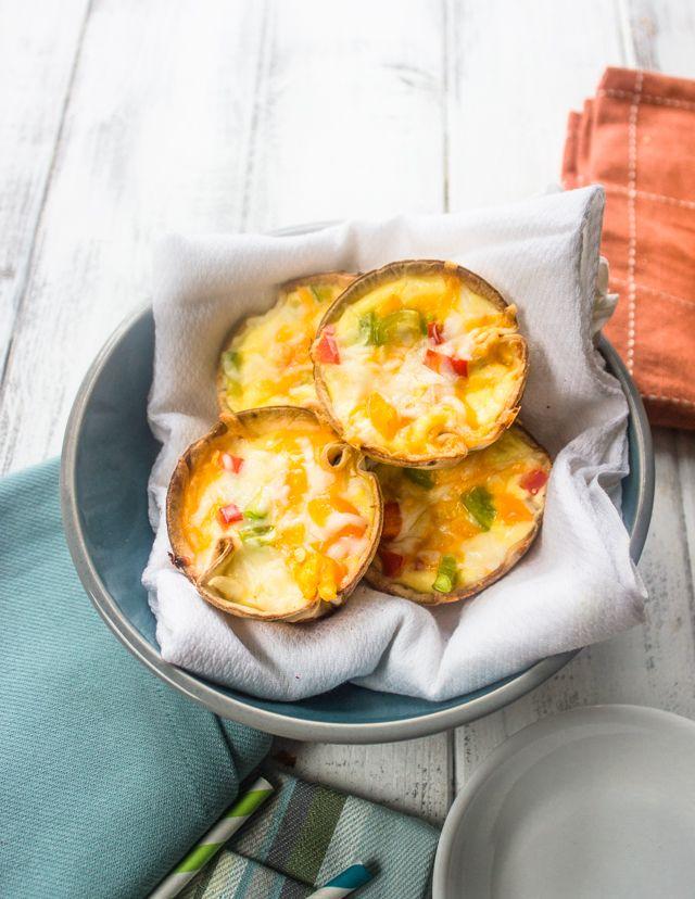 Huevo y queso Tortilla Copas