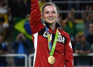 Medal - Maclennan, Rosannagh - Trampoline Gymnastics - Canada - Women - Rio Olympic Arena