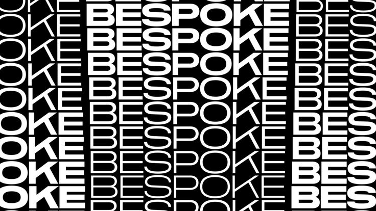 Bespoke came to the designers looking for a fresh identity to appeal to their growing commercial clientele while not alienating their roots.