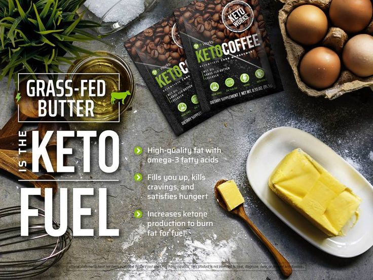 Butter in coffee... say what?! With It Works! Keto Coffee, we've taken the mess out and kept all the benefits in! Fat has never been more friendly than this! Grass-fed butter is the  to feeling #FitFueledFocused!