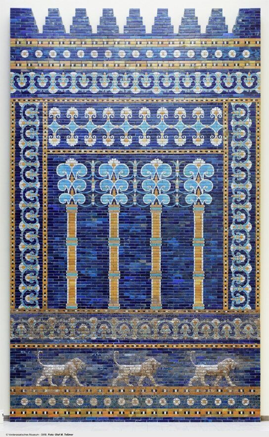 Ishtar Gate and Processional Way. Istanbul Archaeology Museum, Turkey