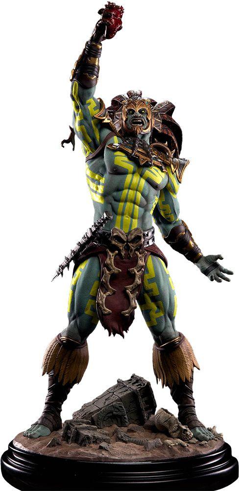Mortal Kombat X Kotal Kahn Sun God 1/4 Scale Statue Main Image