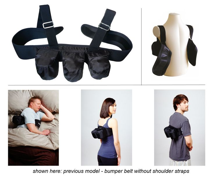 Rematee A Bumper Belt That Uses Positional Therapy To