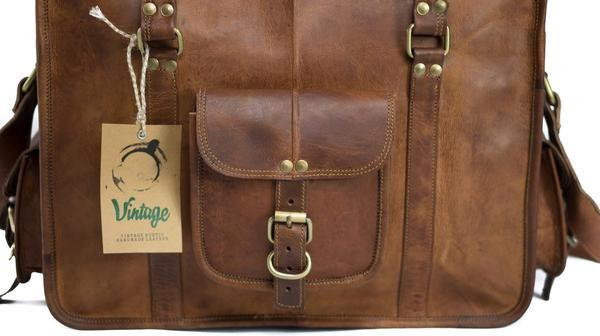 Buy Vintage Leather Kent Duffle Cabin Bag. High Quality Leather Handmade Bags and Accessories. Free and Fast Delivery Australia Wide. Buy Now Pay Later.