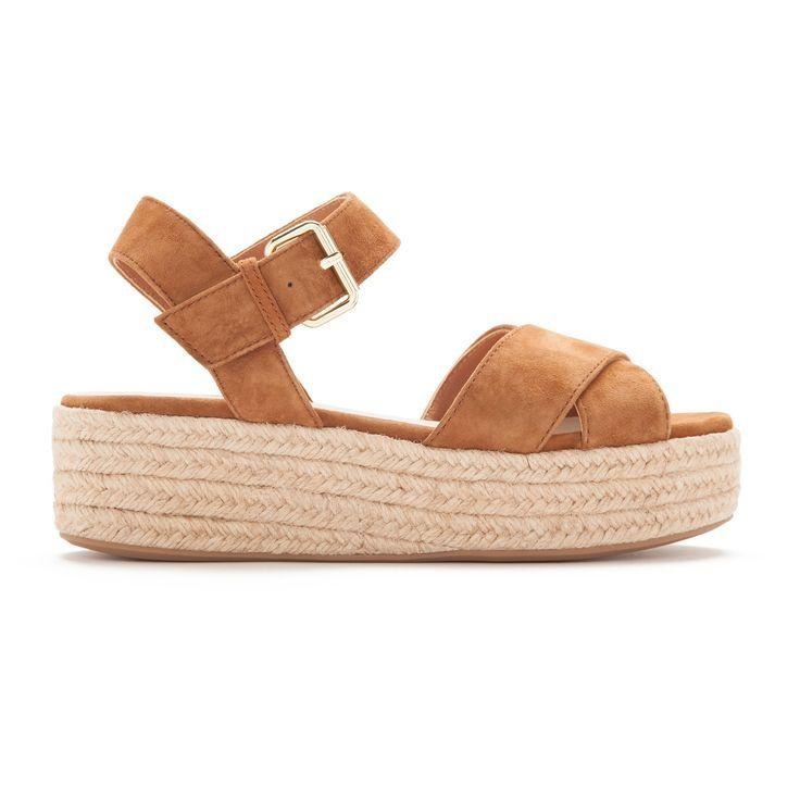 Zapatos sandalia asparto camel, Bimba y Lola sandalias