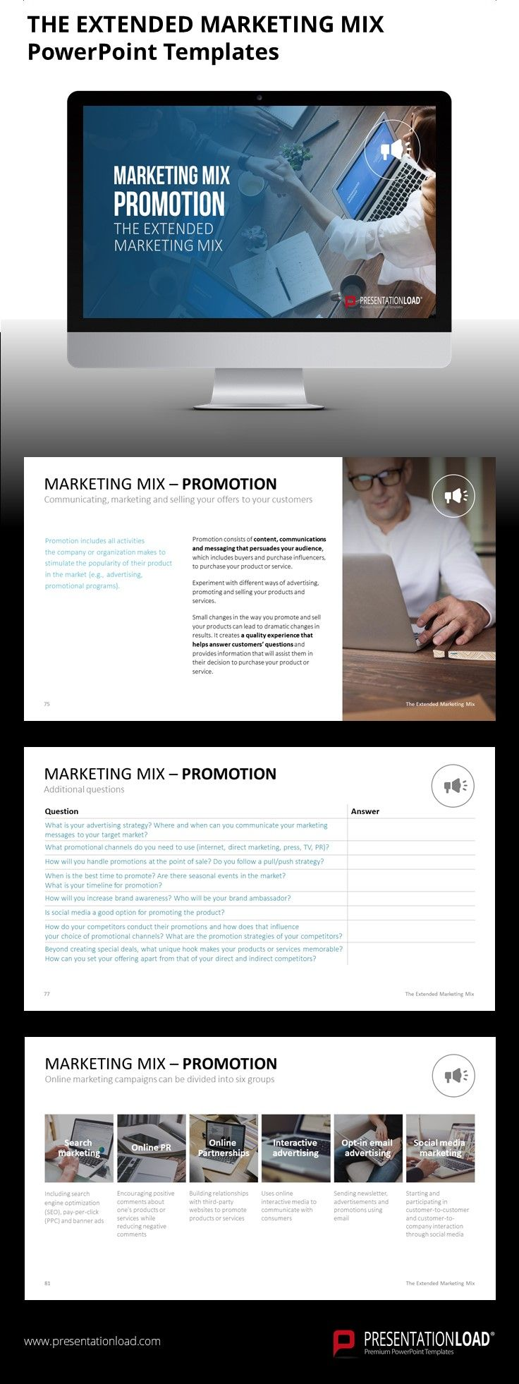 The Extended Marketing Mix Marketing Mix Powerpoint Templates Powerpoint
