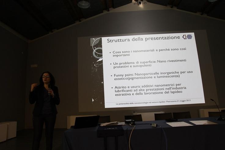 """Il """"Polo Pietre Toscane"""" www.polopietretoscane.it  in collaborazione con il Polo delle Nanotecnologie della Regione Toscana www.nanoxm.it organizza un work shop sulle potenzialità che le nanotecnologie possono offrire al settore lapideo. (foto Stefano De Franceschi - Cosmave)"""