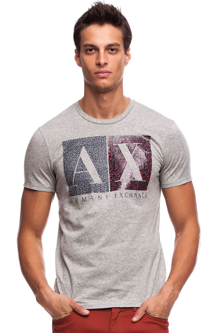 A|X Animal T-Shirt - Tee Shirts - Mens - Armani Exchange