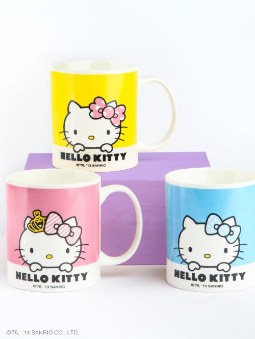 #HelloKitty mugs for the morning!