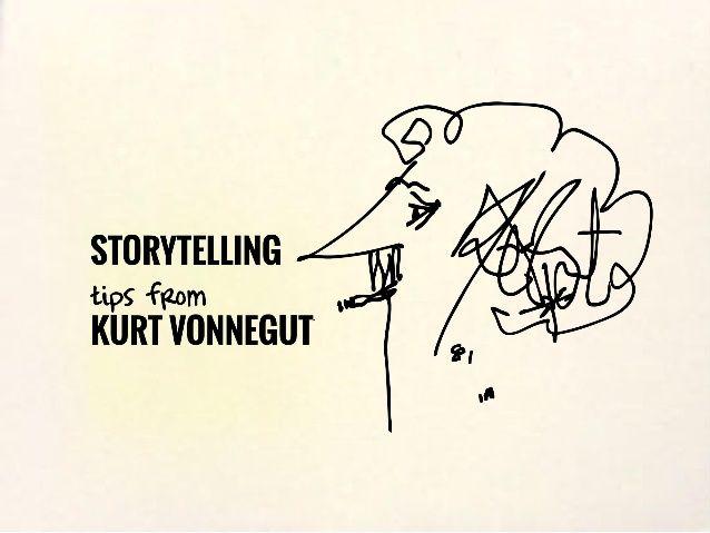 7 storytelling tips from kurt vonnegut by Gavin McMahon | fassforward Consulting Group via slideshare