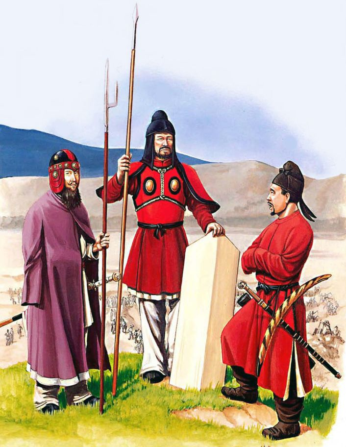 Sui Dynasty Guardsmen, Medieval China