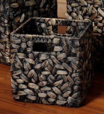 Gabrielle water hyacinth baskets, Large