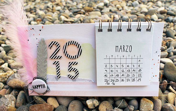 Miércoles de inspiración | Calendario handmade - YoY Scrap