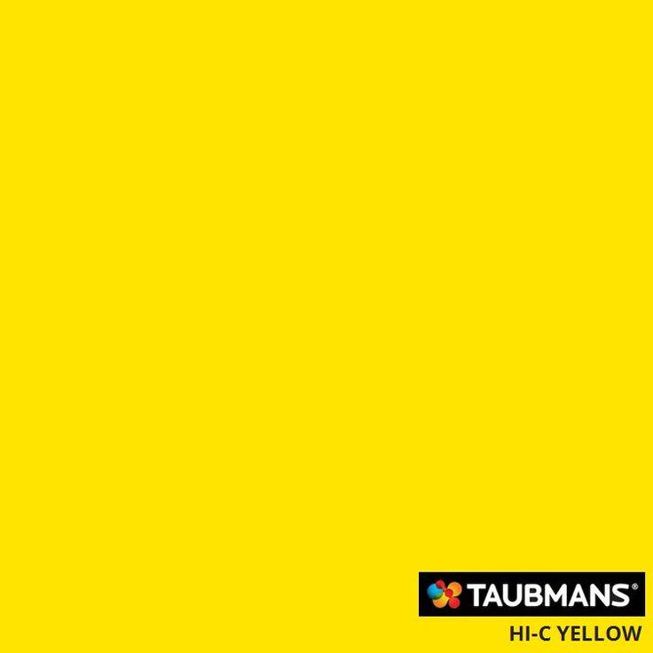 #Taubmanscolour #hi-cyellow