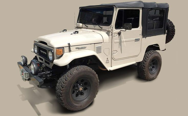 1982 toyota land cruiser fj40 volcan 4×4 | Land Cruiser Of The Day!