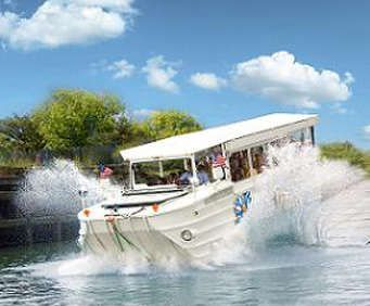The Ride the Ducks tour offers different options to visitors, with scenic looks ranging from land to lake, ensuring you find a fun-tastic experience that can stay fresh through multiple visits.
