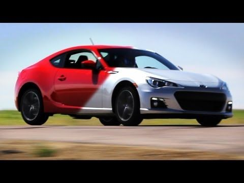 Scion FR-S vs Subaru BRZ review video. Comes down to suspension preference.