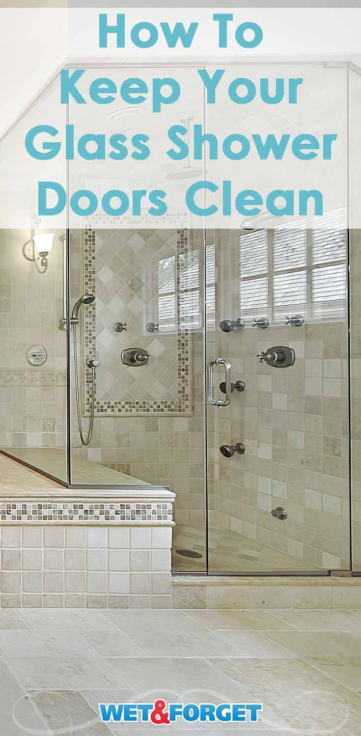 All About Glass Shower Doors Keeping Them Clean Wet Forget Blog Glass Shower Doors Glass Shower Clean Shower Doors