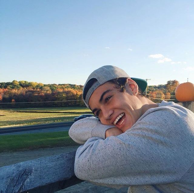 Hey I'm Ethan and I'm 17. I have a twin brother, Grayson. We have a YouTube channel together called Dolan Twins. I'm in 11th grade. Also I'm in the football, lacrosse, and wrestling team and I'm single. ~Ethan