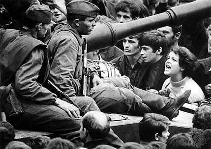 Prague Spring, August 1968.