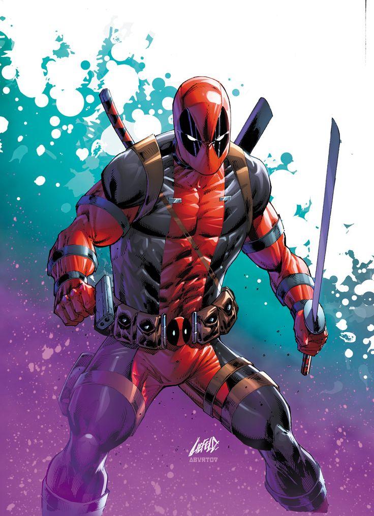 #Deadpool #Fan #Art. (Deadpool Annual Fried Pie Variant Cover) By: Rob Liefeld. ÅWESOMENESS!!!™ ÅÅÅ+