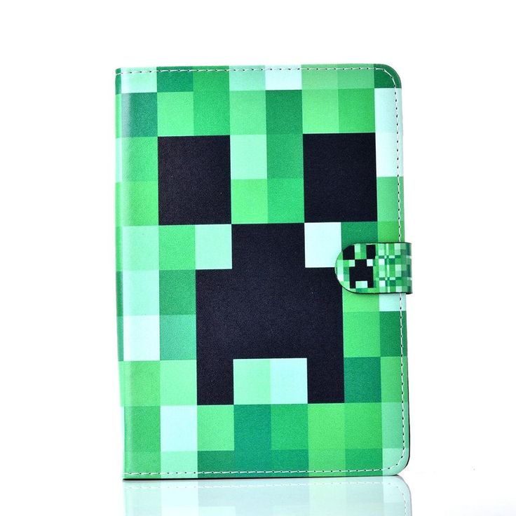 Minecraft Leather Cover Case For Apple Ipad 2 3 4 5 6 Air