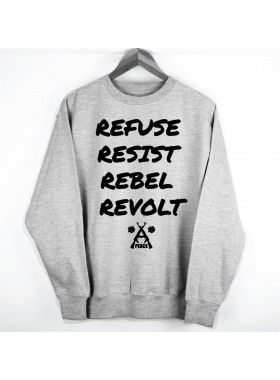 Peace Denim Co. Rebels Rebel Sweater. Buy @ http://thehubmarketplace.com/index.php?route=product/product&product_id=397