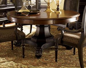 Tommy Bahama Home Kingstown Bonaire Round Dining Table by Lexington Home Brands